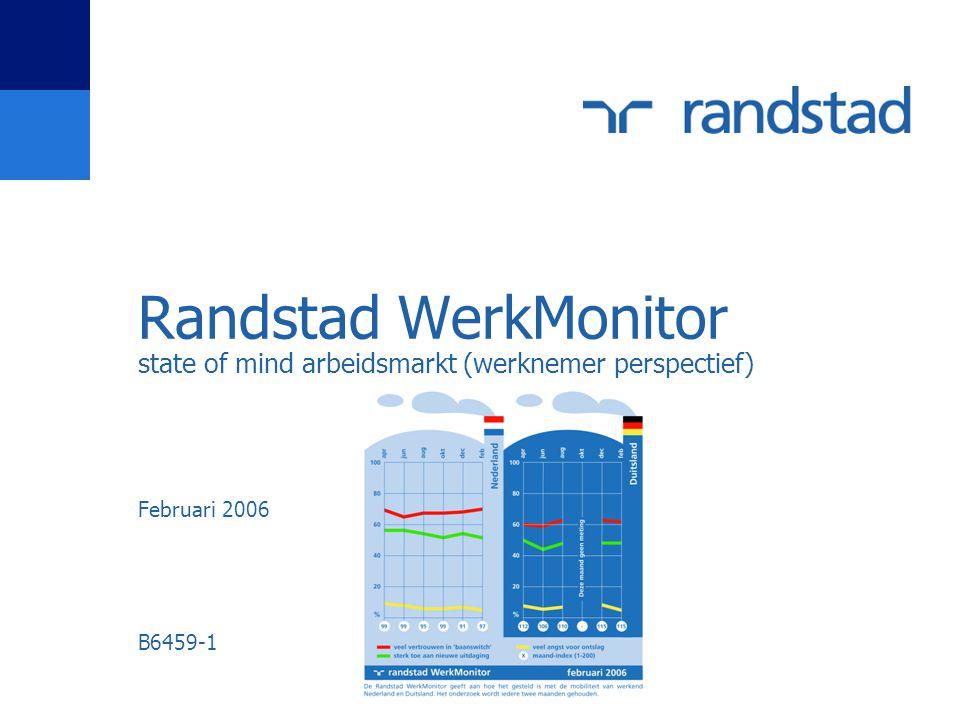 Randstad WerkMonitor state of mind arbeidsmarkt (werknemer perspectief) Februari 2006 B6459-1
