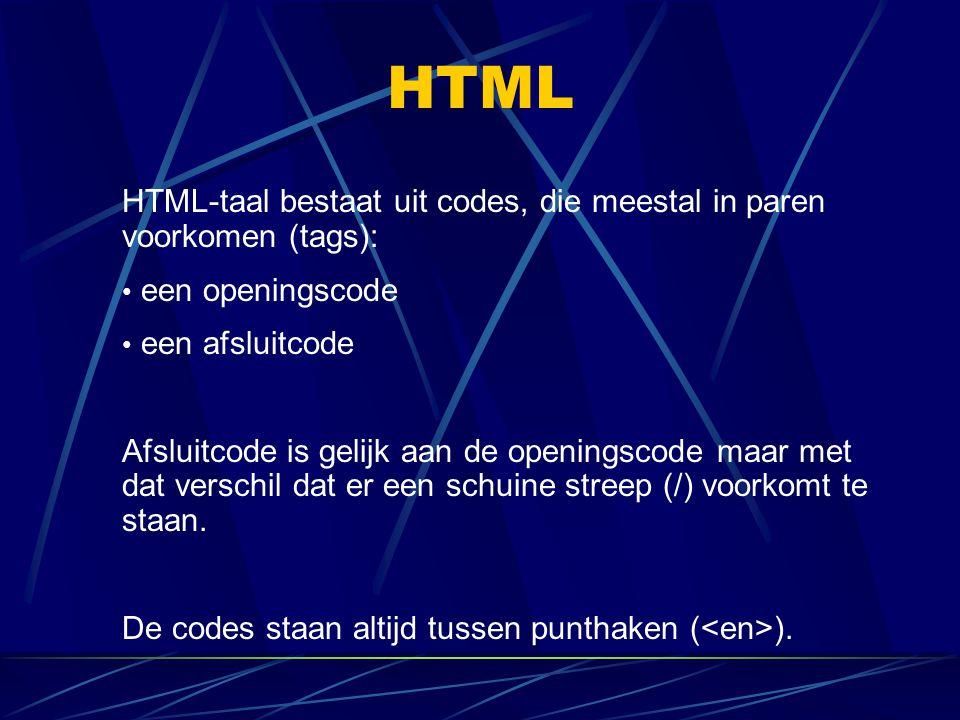 HTML Horizontale lijn Een andere manier om tekst af te scheiden.