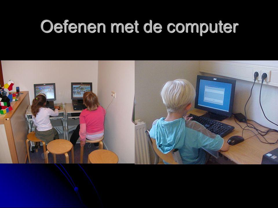 Oefenen met de computer