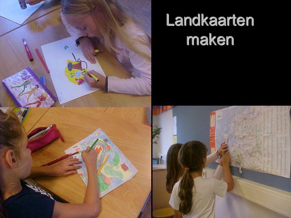 Landkaarten maken