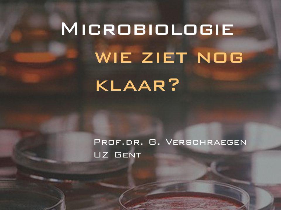 - nieuwe bacteriën, nieuwe namen - opinie omtrent toestellen - nieuwe richtlijnen antibiogram NCCLS