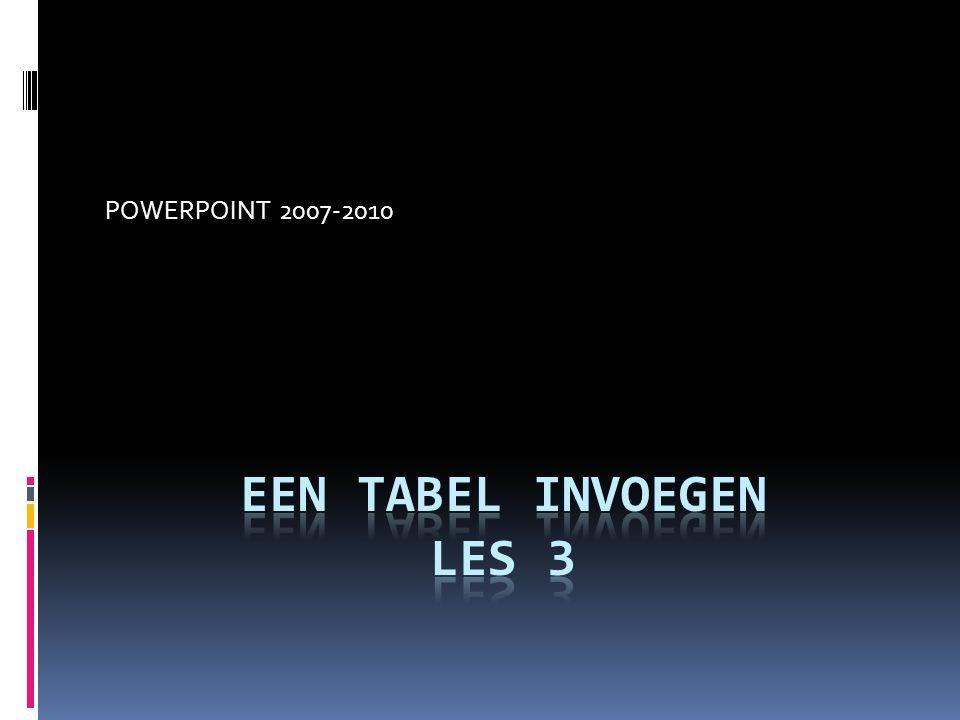 POWERPOINT 2007-2010