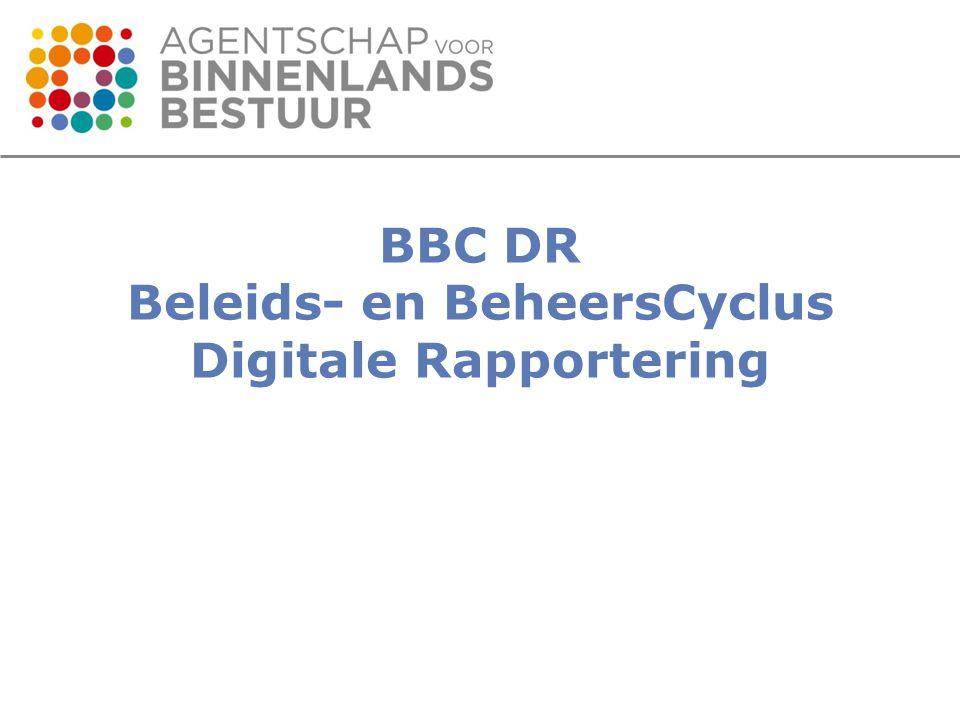 VOBIP – Datastage Extract BBC DR gewenst .