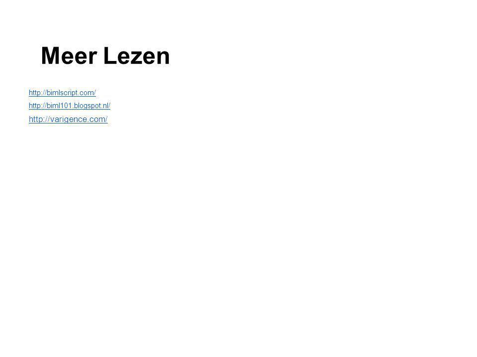 Meer Lezen http://bimlscript.com/ http://biml101.blogspot.nl/ http://varigence.com/