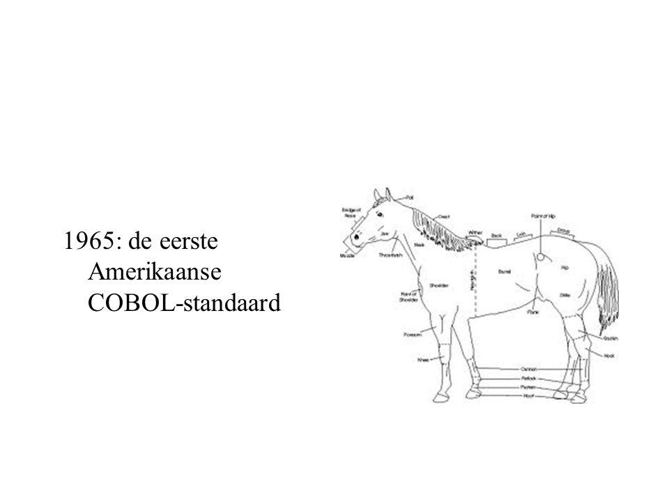 1965: de eerste Amerikaanse COBOL-standaard