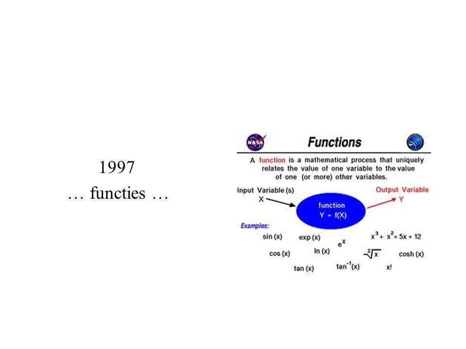 1997 … functies …