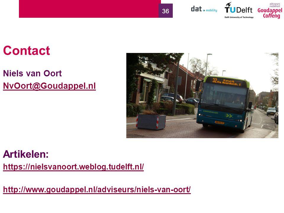 36 Contact Niels van Oort NvOort@Goudappel.nl Artikelen: https://nielsvanoort.weblog.tudelft.nl/ http://www.goudappel.nl/adviseurs/niels-van-oort/