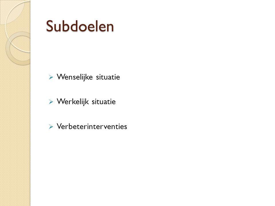 Kwaliteitsvoorstel 1.Onderwerpskeuze 2. Literatuurbeschrijving 3.
