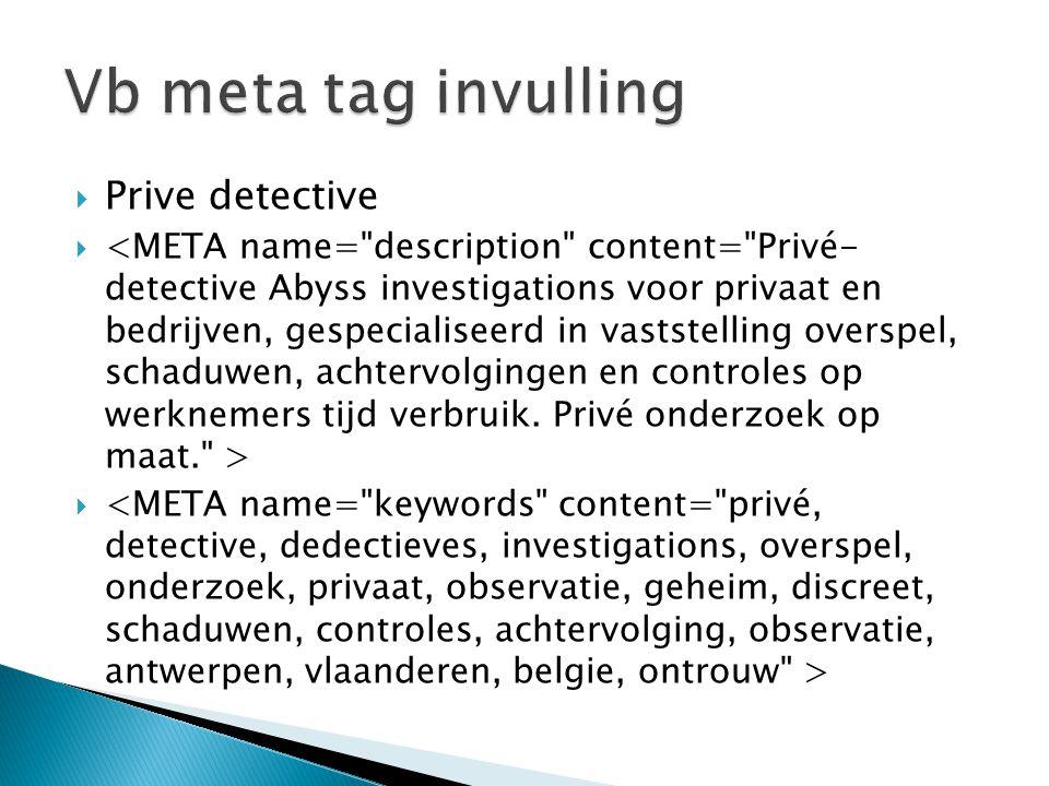  Prive detective 