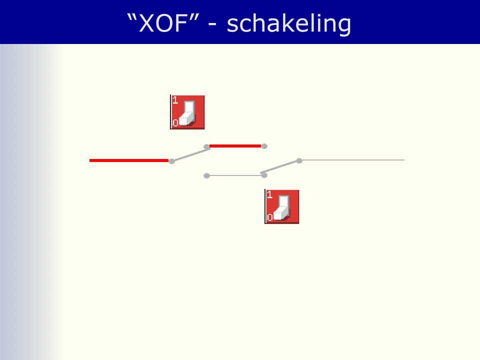 """XOF"" - schakeling"