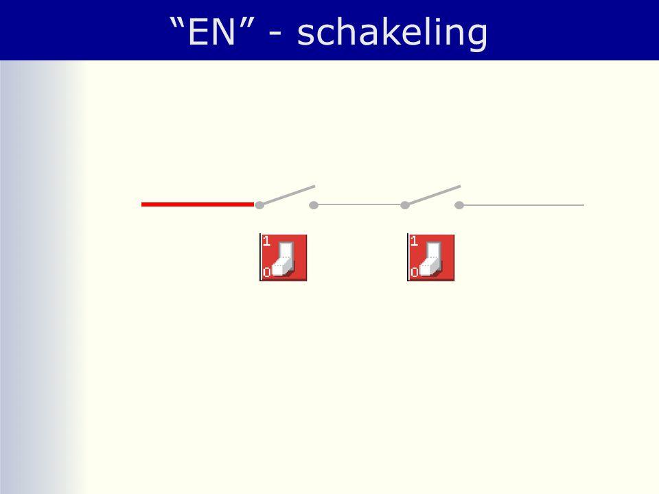 """""""EN"""" - schakeling"""