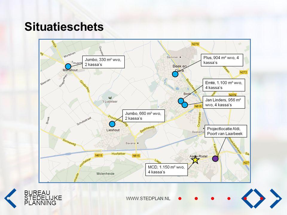 BUREAU STEDELIJKE PLANNING WWW.STEDPLAN.NL Situatieschets