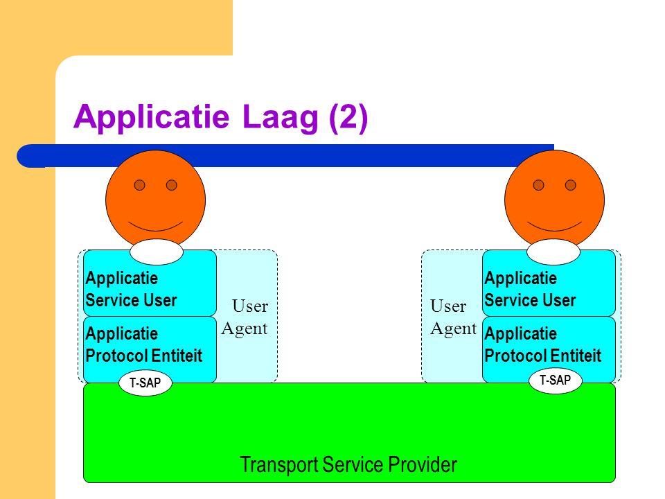 Simple Mail Transfer Protocol (SMTP) SMTP heeft 14 soorten berichten, waaronder: – HELO De zendende email server identificeert zichzelf bij de ontvangende email server.