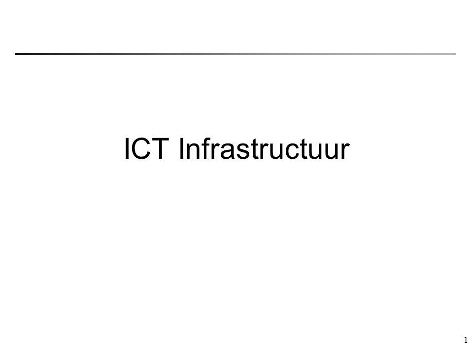 1 ICT Infrastructuur