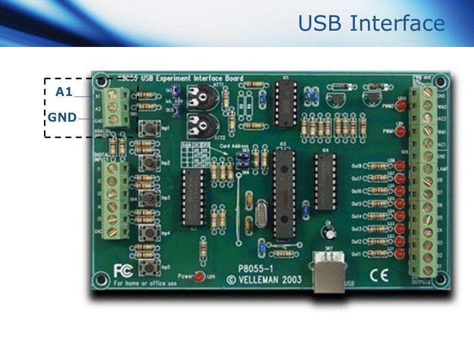 USB Interface A1 GND