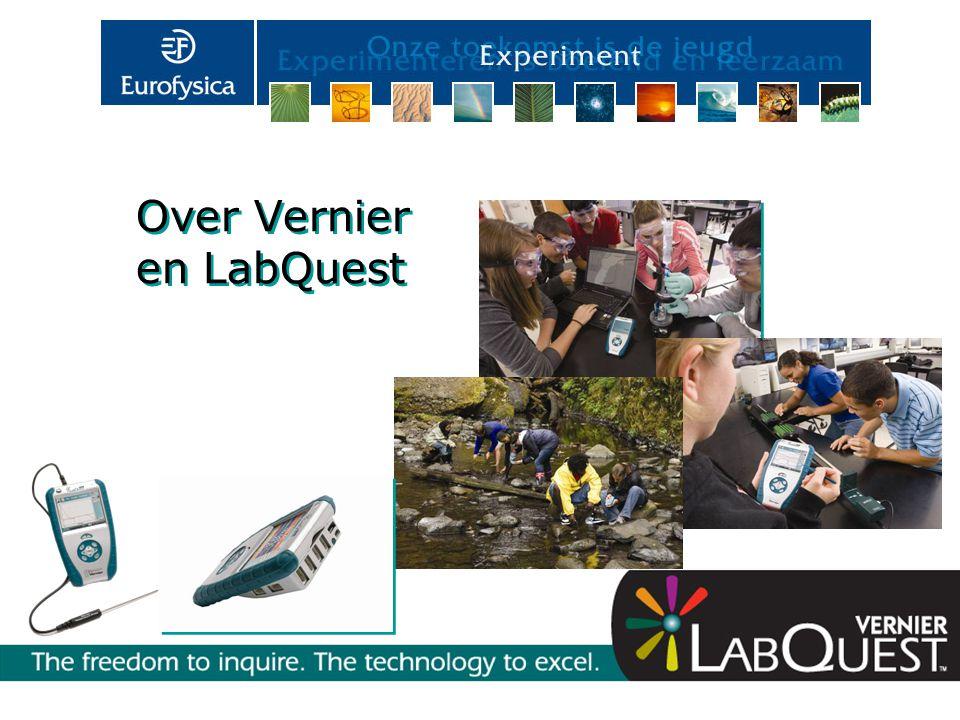 Vernier is een amerikaans bedrijf en specifiek gericht op het meten met sensoren.