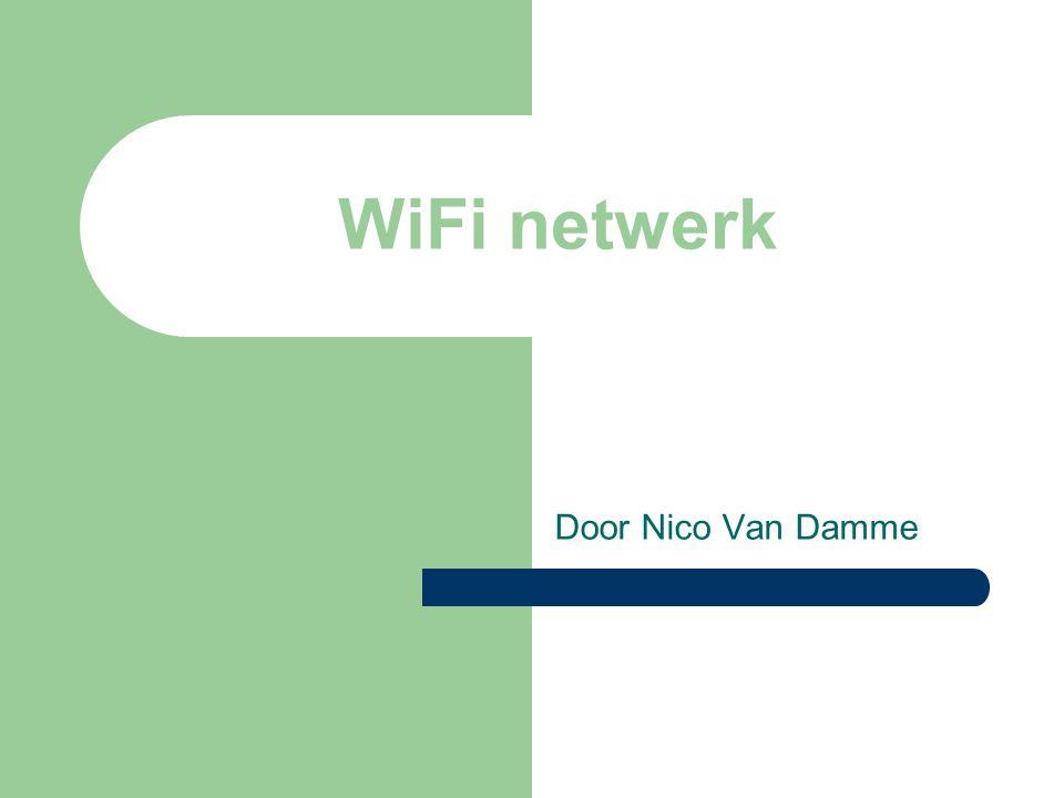 WiFi netwerk Door Nico Van Damme