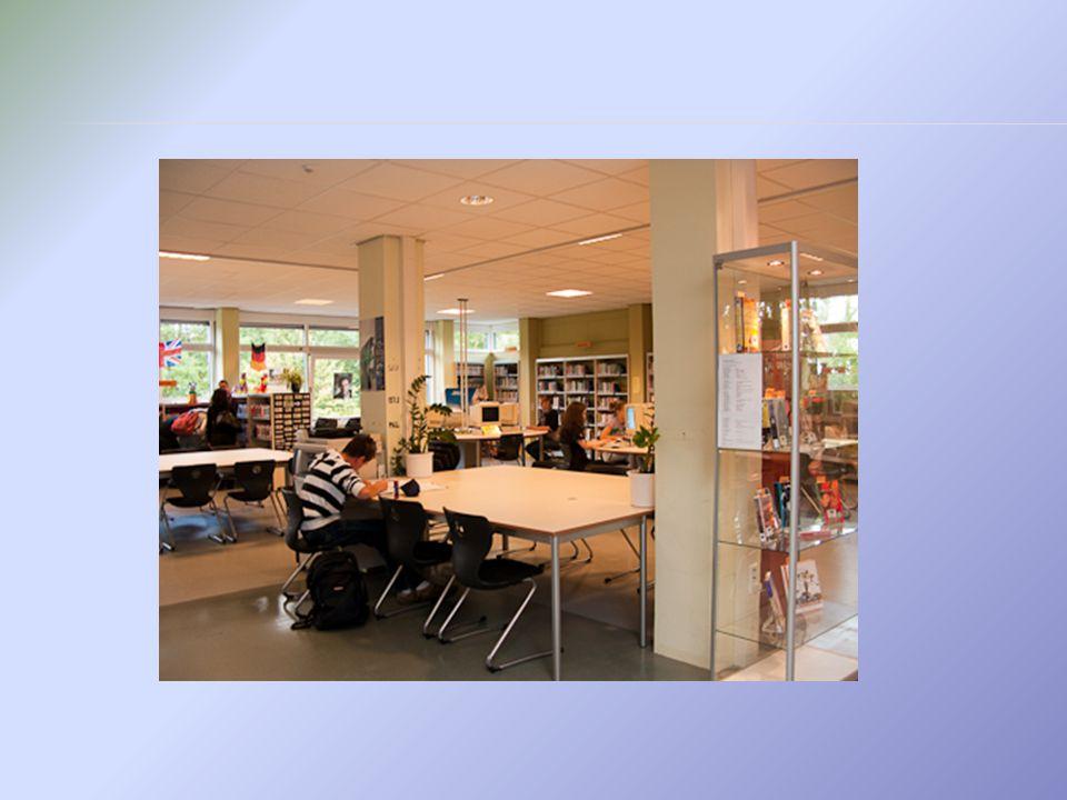  In de mediatheek is een uitgebreide collectie boeken, tijdschriften, dvd's en naslagwerken aanwezig.