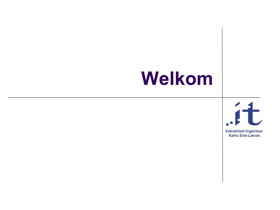 Vakgroep IT KaHo Sint-Lieven44 Toekomst Testen op: Langere planningsperiode, Meer personeel Andere soorten bedrijven Andere onderhandelingsmechanismes Initiële toekenning automatiseren