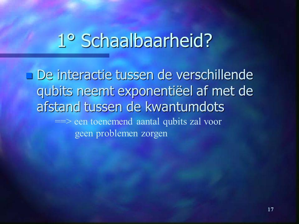 17 1° Schaalbaarheid.
