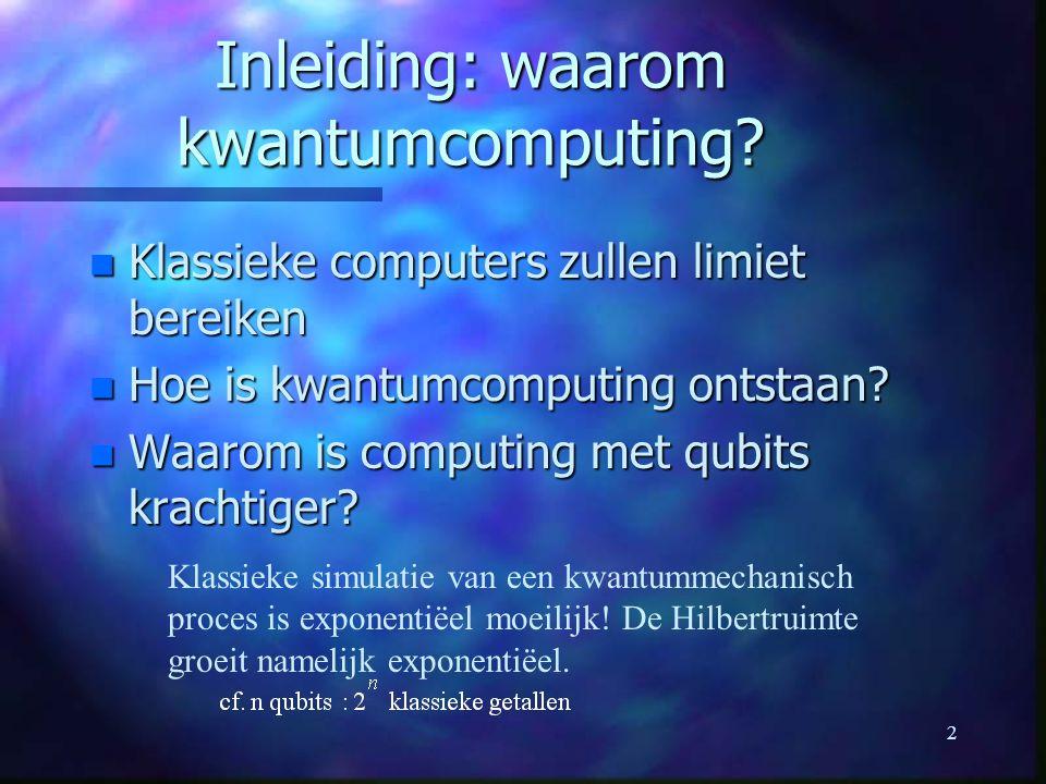 2 Inleiding: waarom kwantumcomputing.