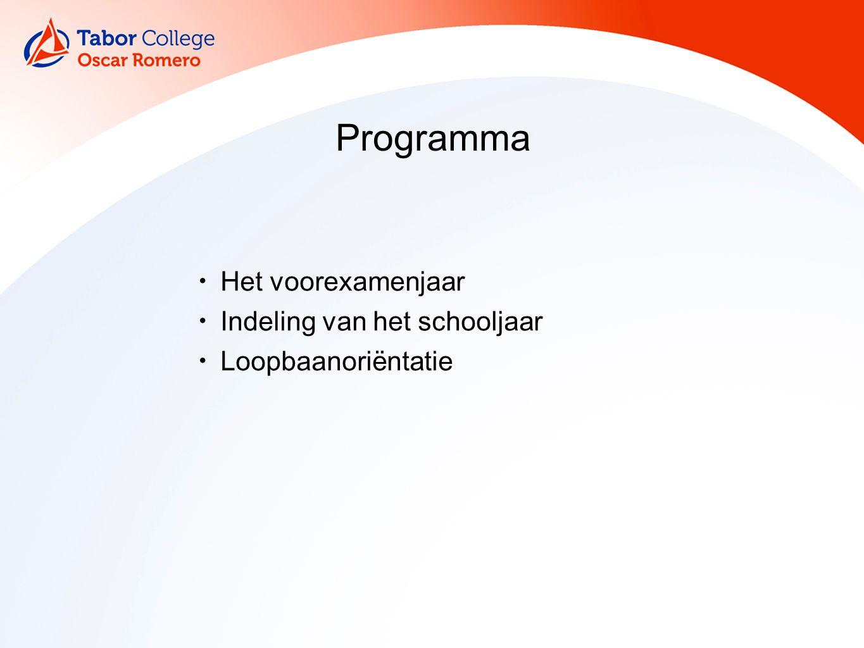 Het voorexamenjaar Magister: cijfers, absentie TeleTOP: exameninformatie, studiewijzers Website: roosters, publicaties, nieuws Ouderlaag