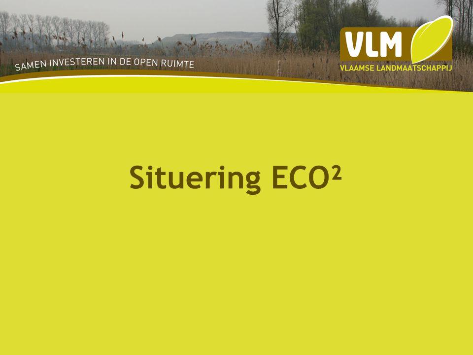 Fase 3 productie 35 ECO²charter ondertekenen l andbouwers LOP bedrijven steun bewoners steun Landschapsfonds oprichten Contracten afsluiten Uitvoeren landschapsbouw