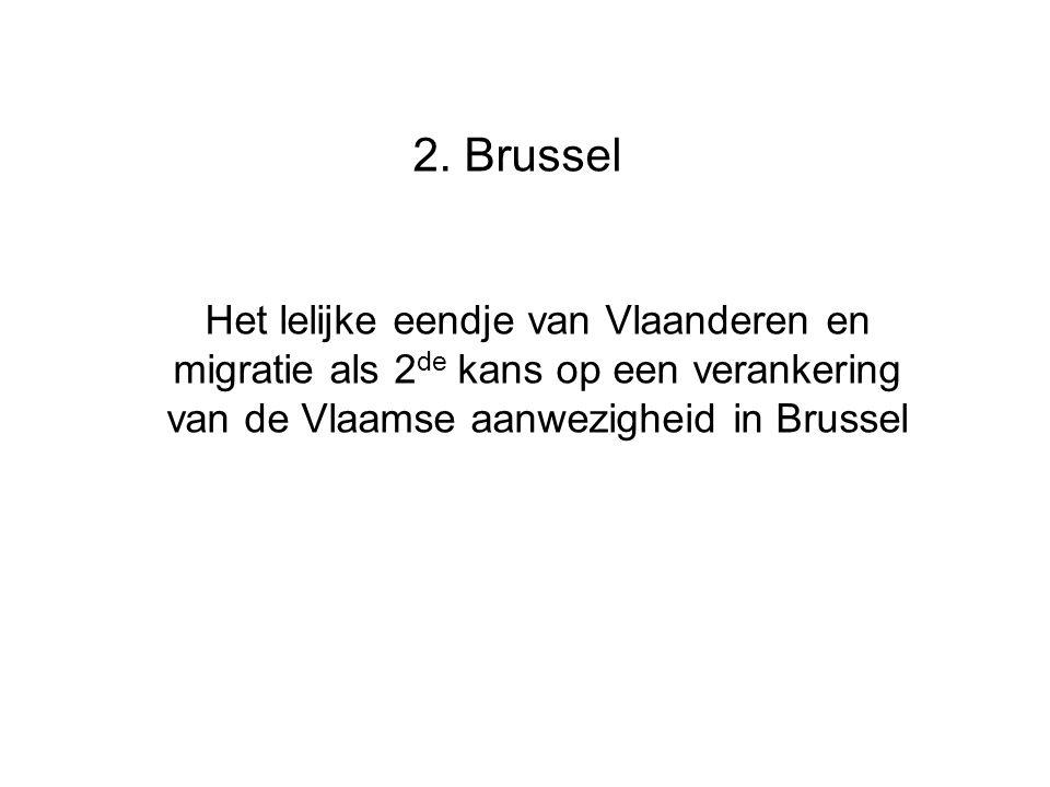 2. Brussel Het lelijke eendje van Vlaanderen en migratie als 2 de kans op een verankering van de Vlaamse aanwezigheid in Brussel