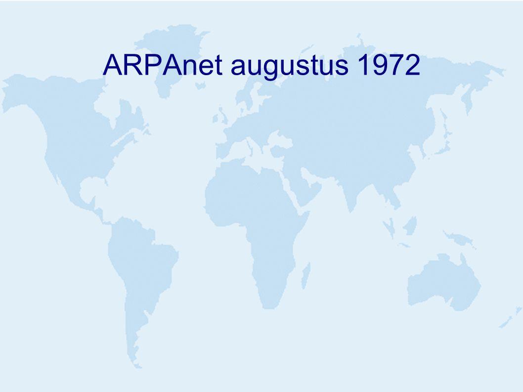ARPAnet augustus 1972