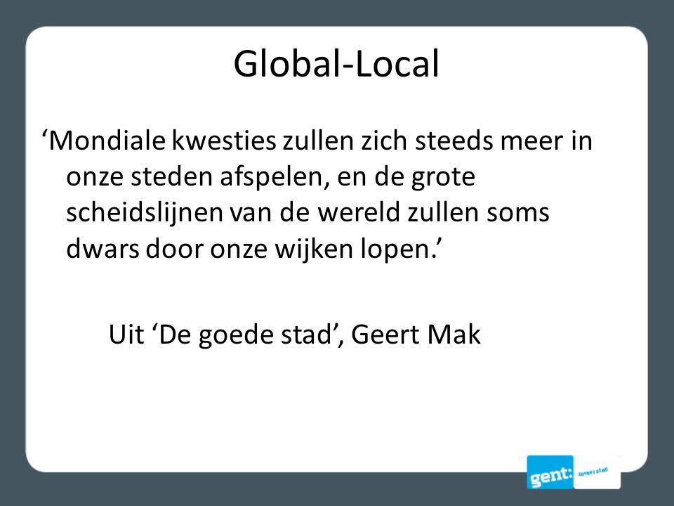 Uitdagingen wijken … de stationsbuurt, de Watersportbaan, de wijk Malem, Ekkergem, de Brugse Poort, het Rabot, de Bloemekeswijk, Muide-Meulestede, de Oude Dokken, de Dampoort en Ledeberg.
