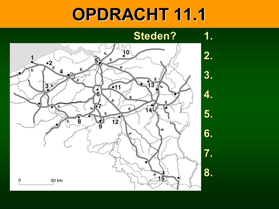 11.1.2 DE VAARWEGEN IN BELGIË Hoofdwaterwegen.K. van Willebroek K.