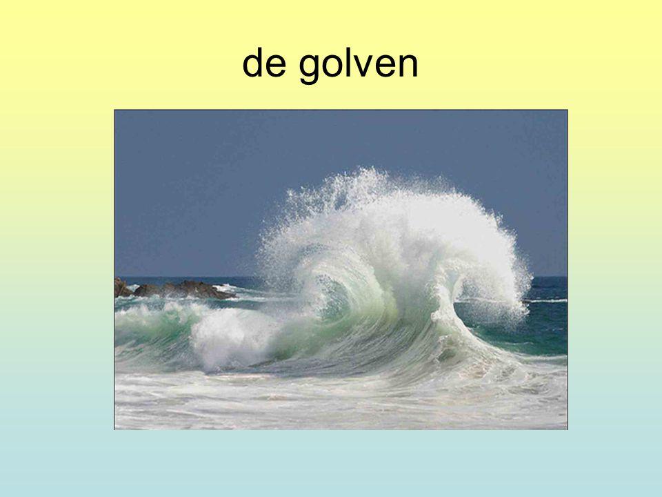 de golven