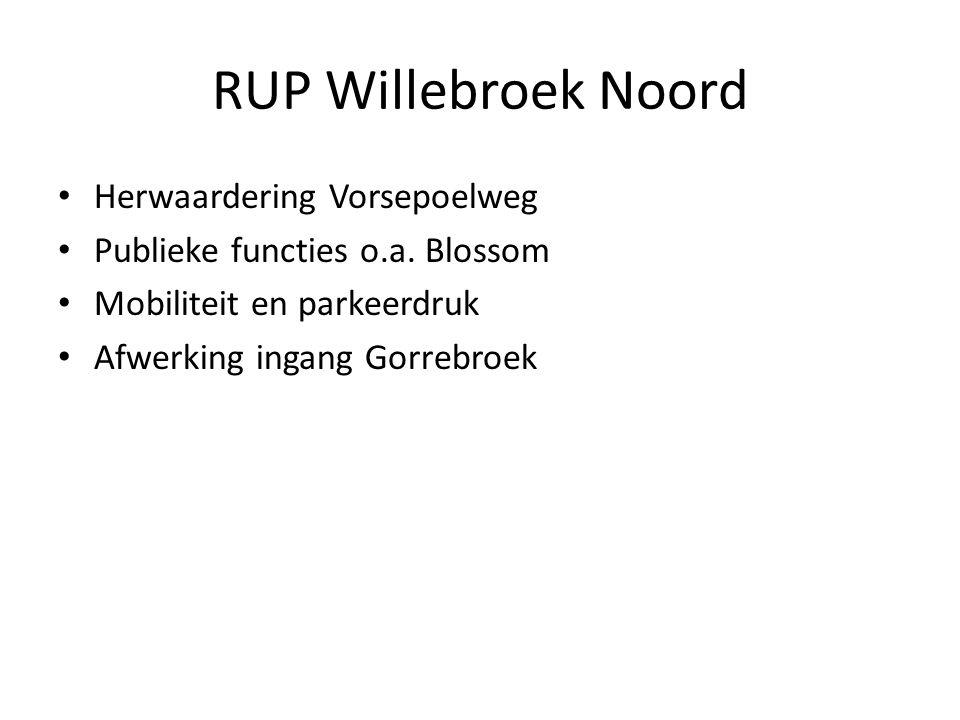 RUP Willebroek Noord Herwaardering Vorsepoelweg Publieke functies o.a.