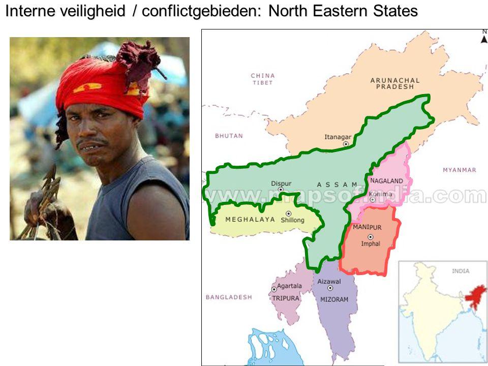 Interne veiligheid / conflictgebieden: North Eastern States