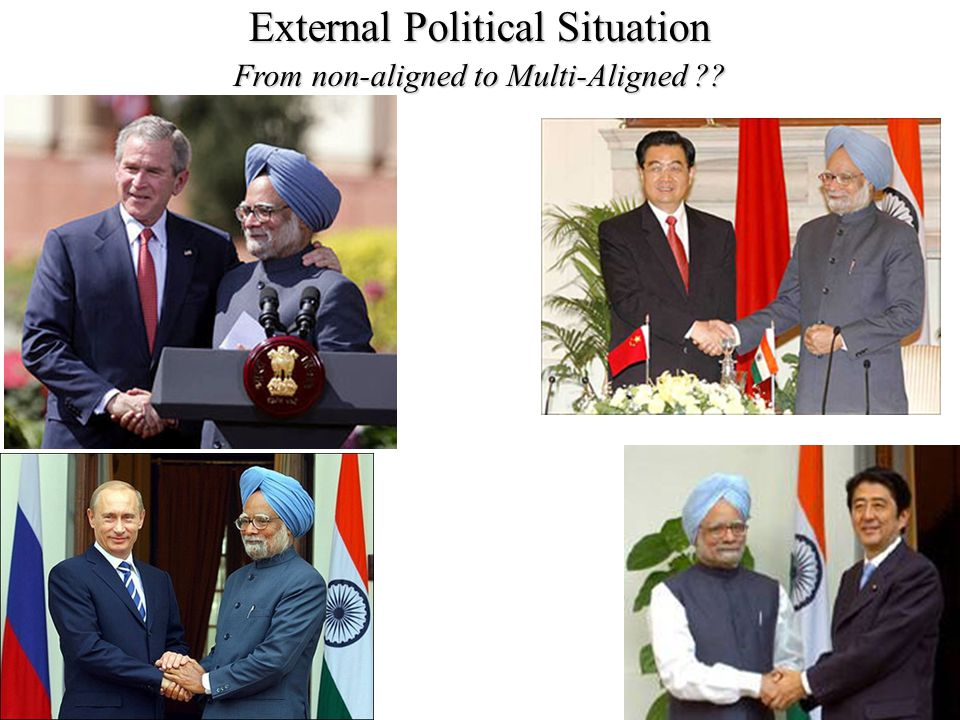 External Political Situation From non-aligned to Multi-Aligned ??