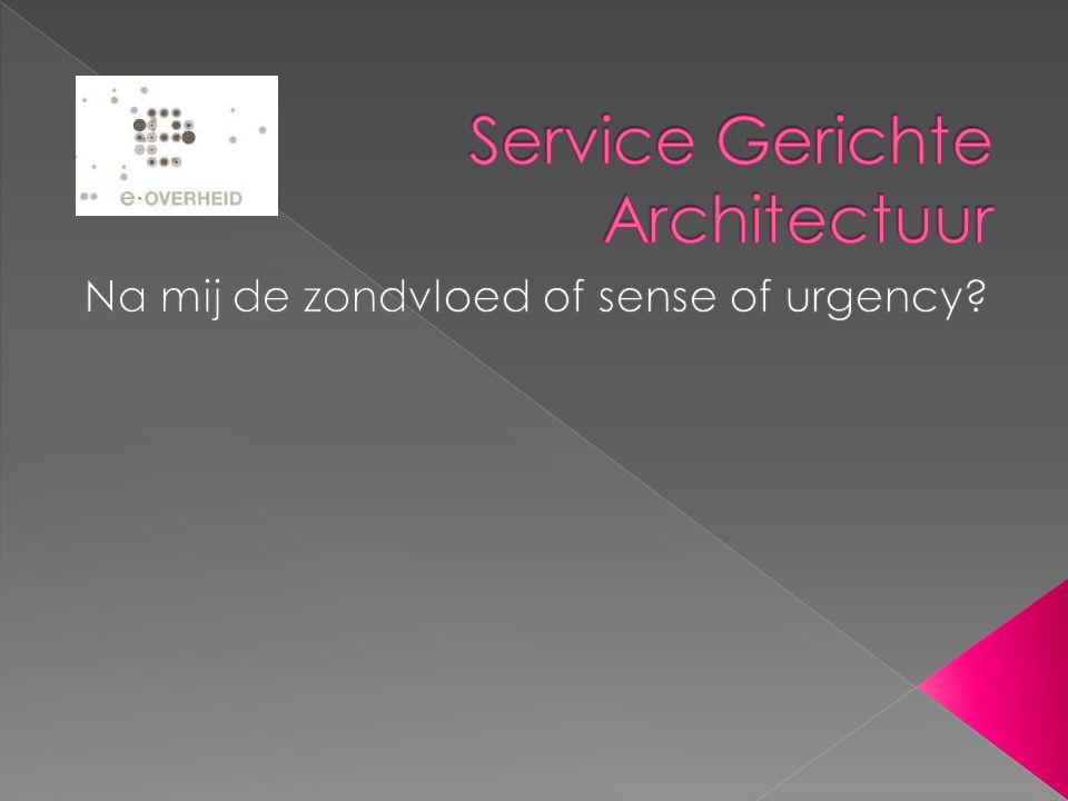 3.2.3 Service-Publicatie Semantiek de crux van een service is gelegen in het resultaat of het effect van de service, omdat dat de belichaming is van de waarde die de service heeft voor de afnemer.