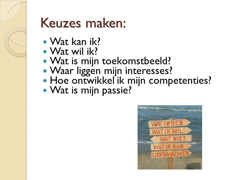Schoolcompetenties (vernieuwd) 1.Plannen & Organiseren 2.