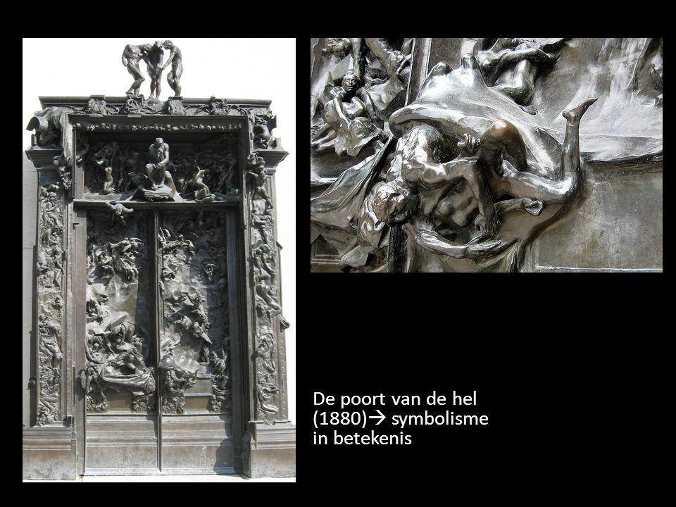 De poort van de hel (1880)  symbolisme in betekenis