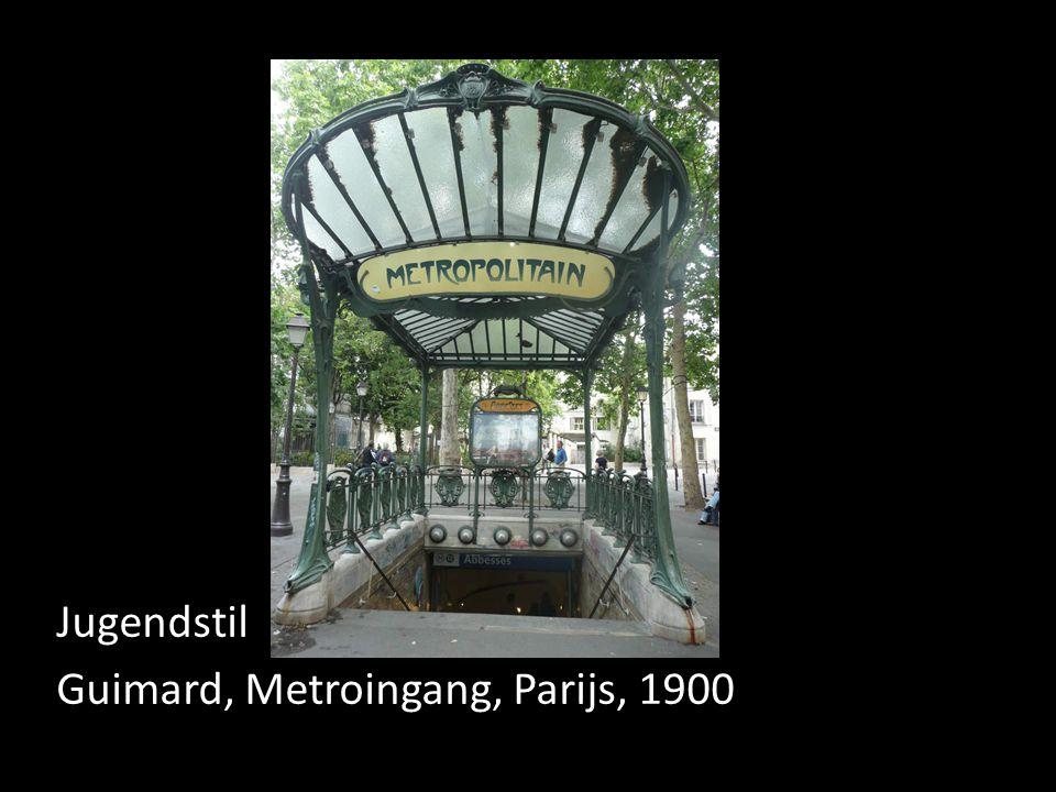Jugendstil Guimard, Metroingang, Parijs, 1900