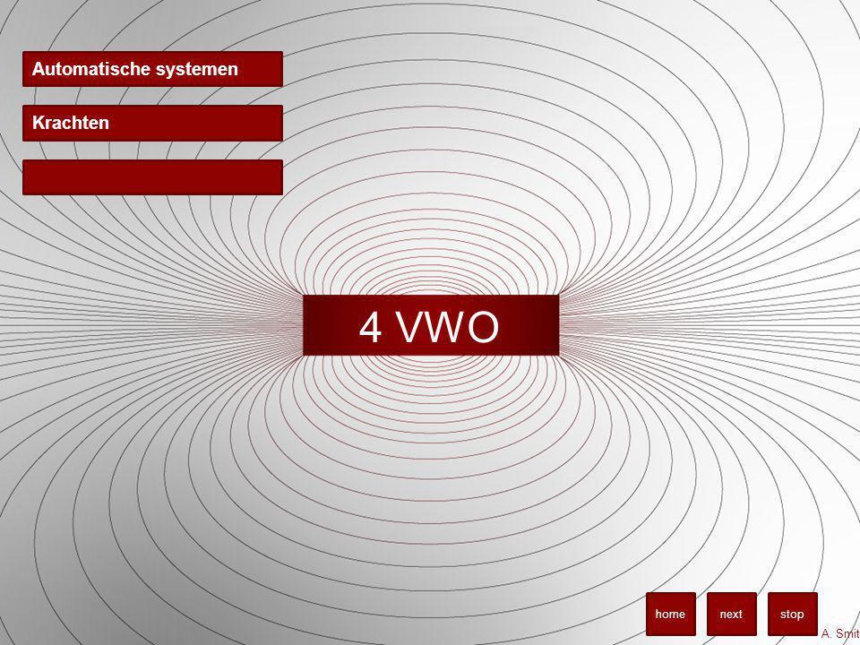 4 VWO Automatische systemen A. Smit stopnexthome Krachten