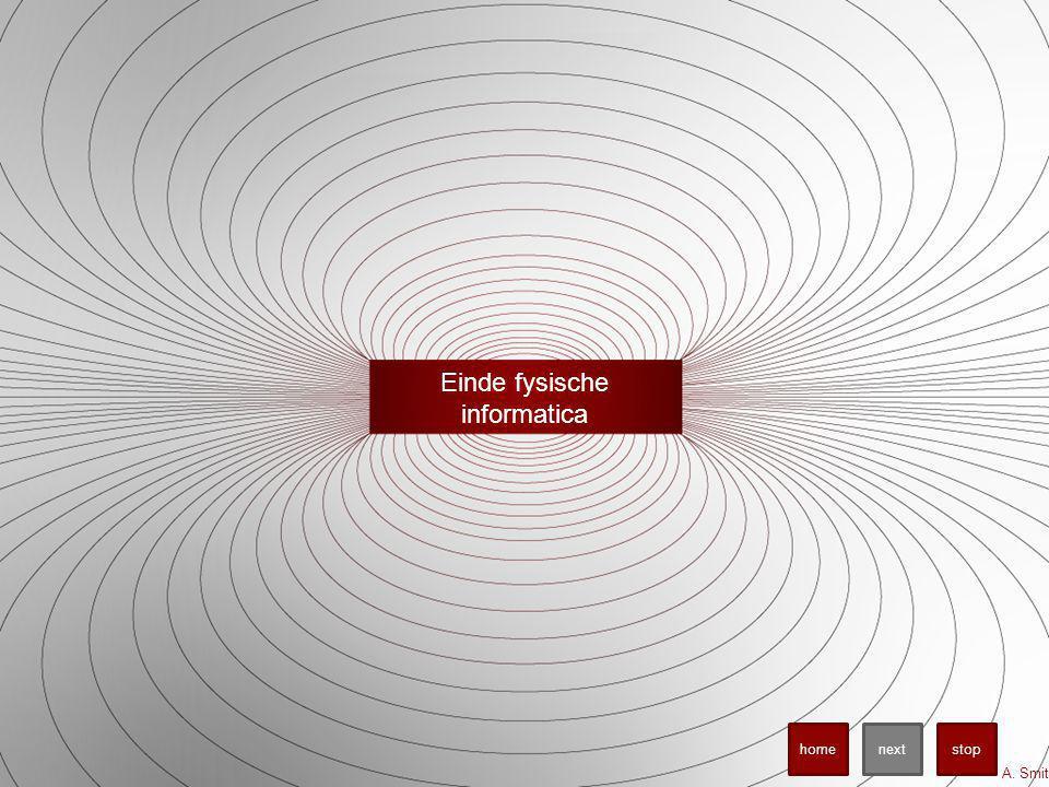 Einde fysische informatica A. Smit stopnexthome