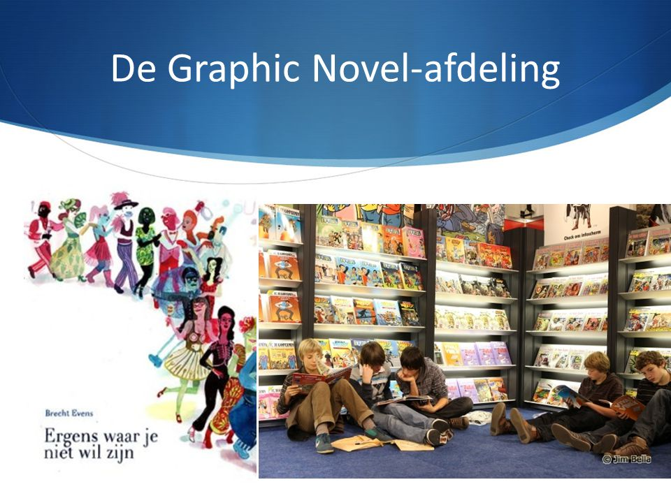 De Graphic Novel-afdeling