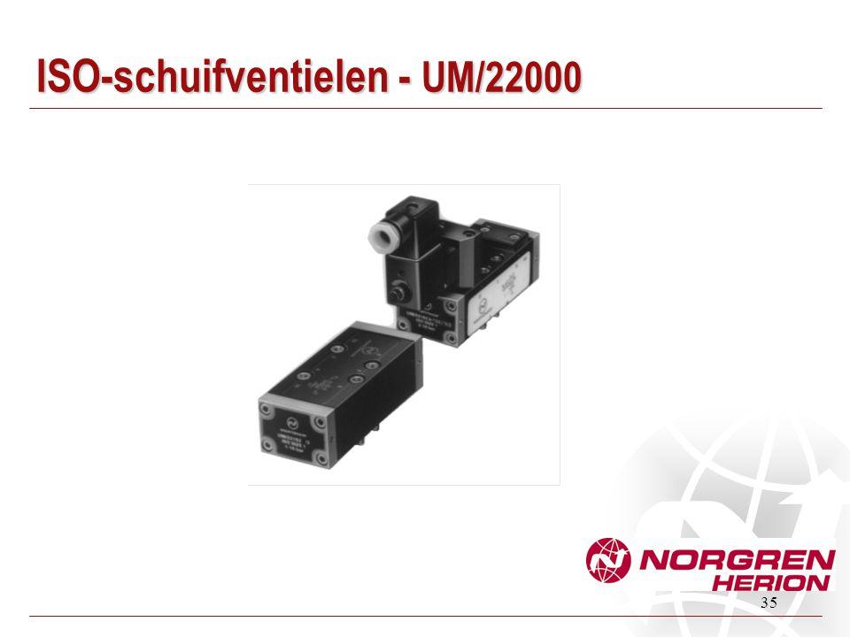 35 ISO-schuifventielen - UM/22000