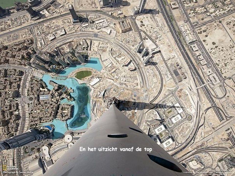 Dubai. Uitzicht vanaf de wolkenkrabber