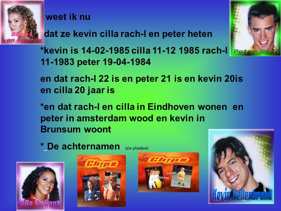 Internetsites over deze hobby: www.chipzfanclup.nl www.chipzworld.de * Kijk naar de antwoorden van vraag 11 Voeg hier foto's of plaatjes in