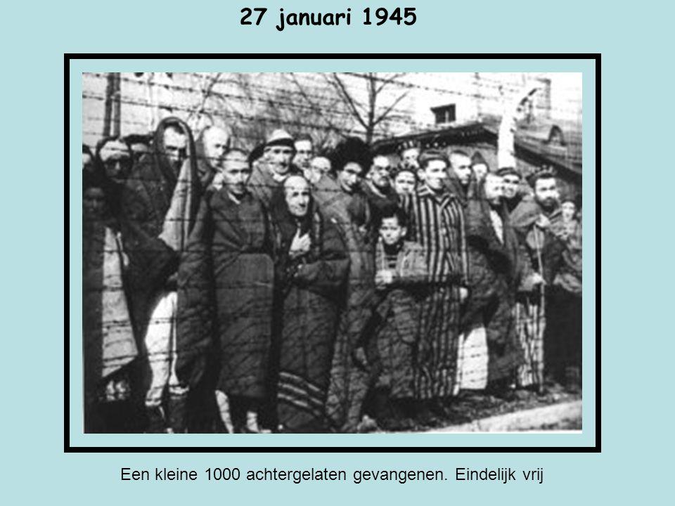 Auschwitz II – Birkenau De ruines van de gaskamer en het Crematorium II. Daar werden honderden duizenden mensen vermoord van de kampen.