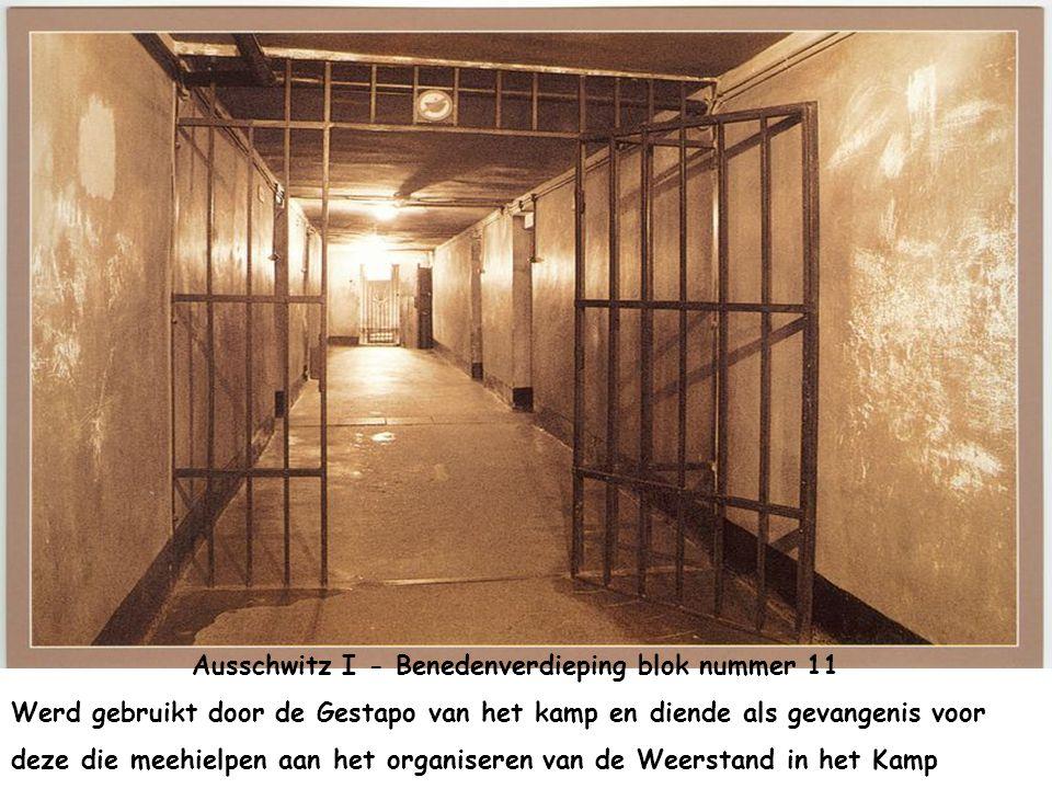Iedere dag kwamen de gevangenen 2 maal voorbij. Om om naar het werk te gaan en dan terug naar hun cel. Diegenen die vermoeid of gestorven waren werden