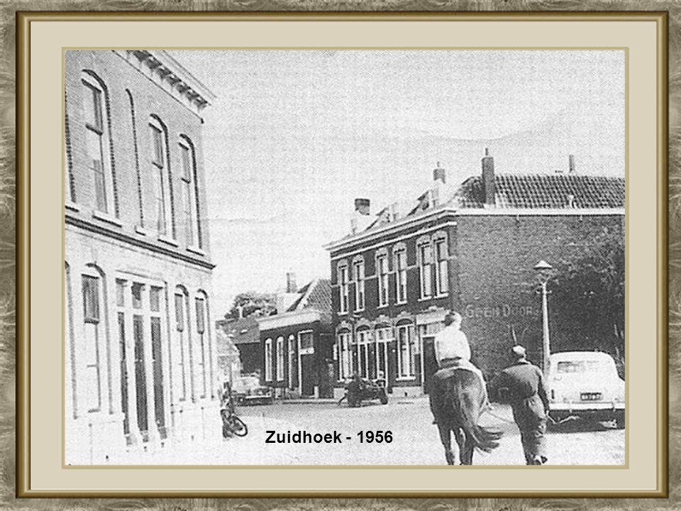 Koninginnekerk Goudserijweg Boezemstraat 1956
