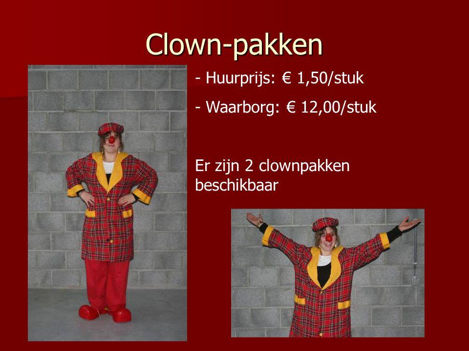 Krokodillen-pak - Huurprijs: € 1,50 - Waarborg: € 12,00 Er is 1 krokodillen-pak beschikbaar