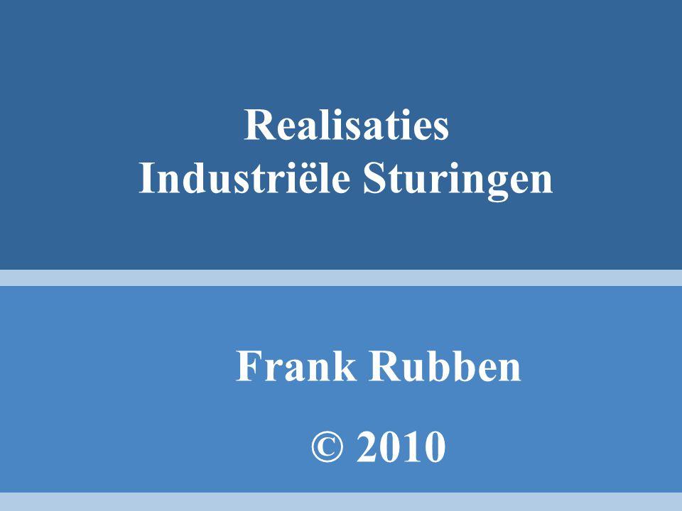 Realisaties Industriële Sturingen Frank Rubben © 2010